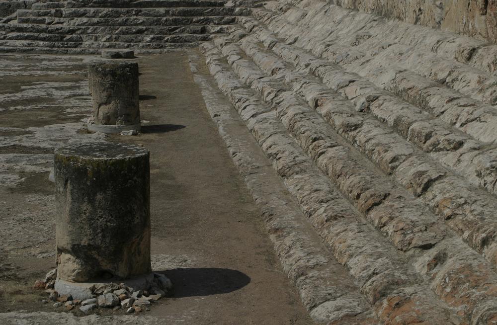 Eleusis archeological site, Greece